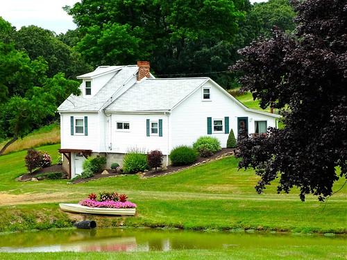 house rural landscape pond pennsylvania country beaver findlay allegheny us30 abode lincolnhighway erjkprunczyk