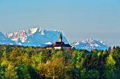 Wanderung Zugspitze. Ziel im Blick. Foto: Florian Werner.