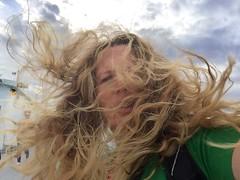 hair dance on ferry