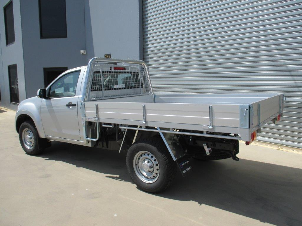 Isuzu Dmax Aluminium Trays