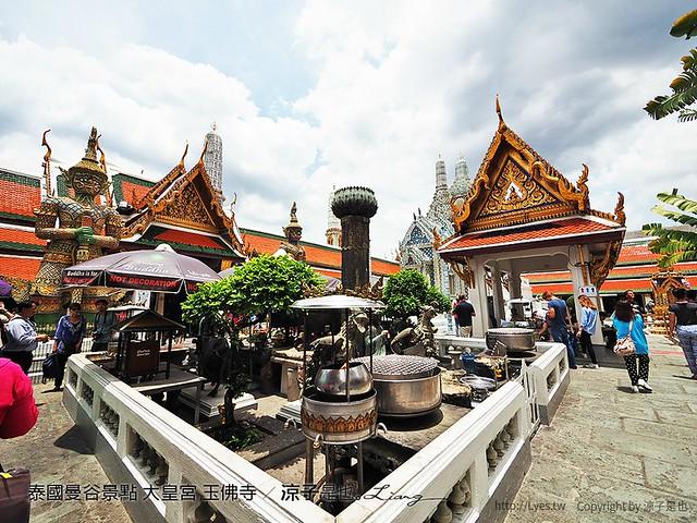 泰國曼谷景點 大皇宮 玉佛寺 22