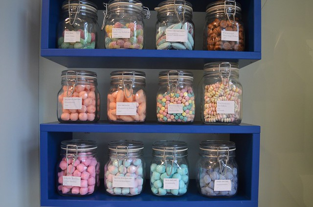 Herr Nilsson Godis Berlin_ Scandinavian candy store_ candy jars in the shop