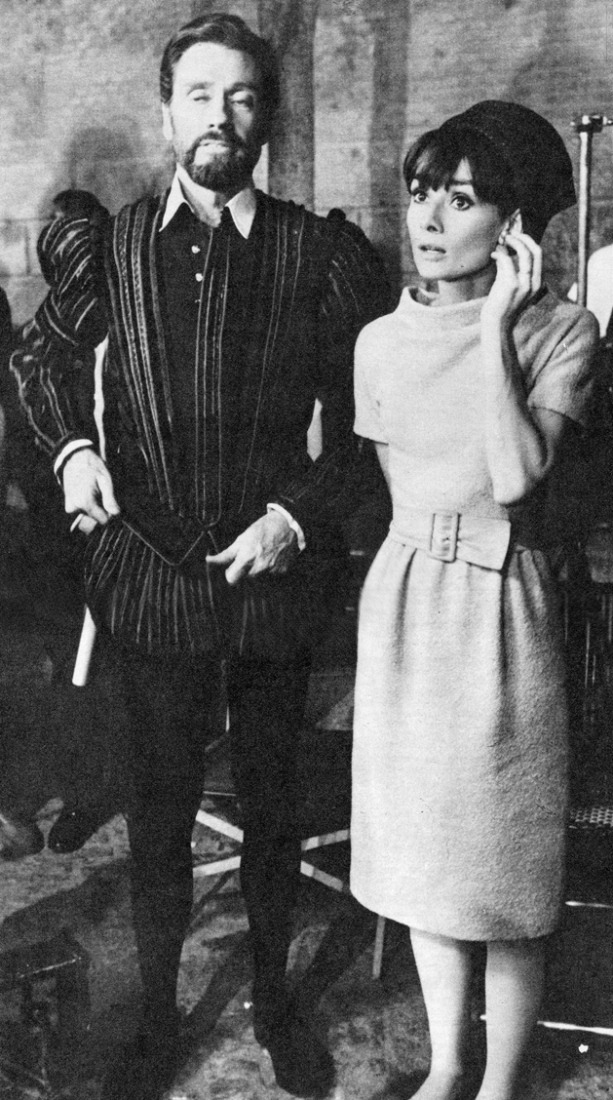 Audrey Hepburn y Mel Ferrer en Toledo en septiembre de 1964