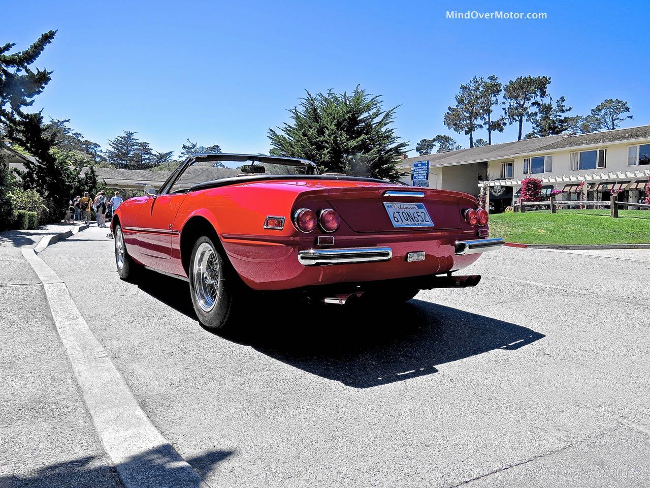 Ferrari 365 GTS:4 Rear