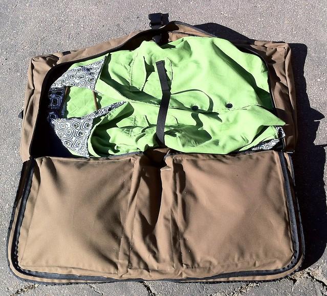 Canvas Bike Suit Bag
