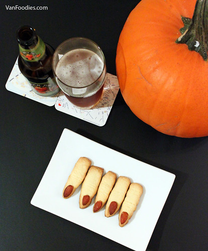 Monster Finger Cookies for Halloween