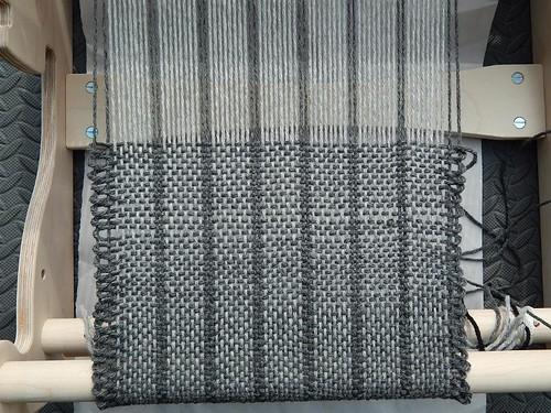 Uneven weaving