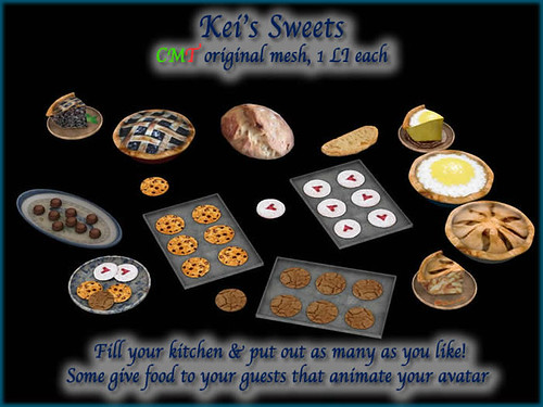 Kei's Sweets - BoxedPIC