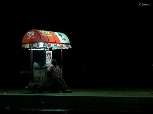 Ice-cream vendor -
