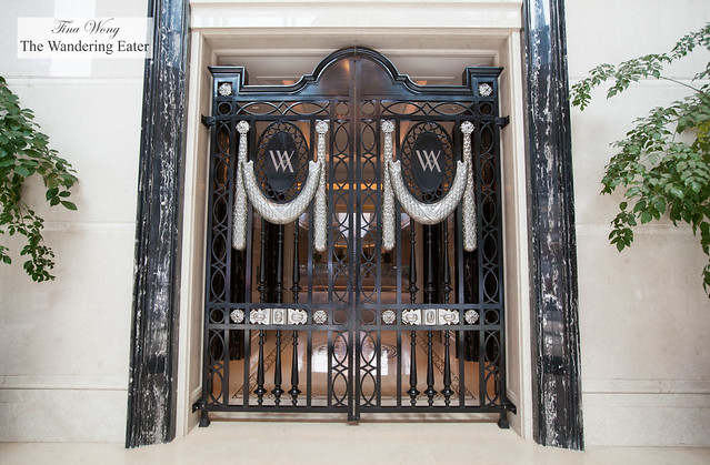Gates at the foyer