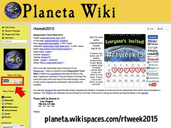 2015 Responsible Travel Week on the Planeta Wiki