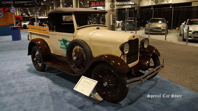 1929 Ford Model A International Pacific Highway Expedition
