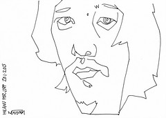 A Drawing a Day #57: Heanu for JKPP #ADrawingADay, #Drawing, #Jkpp, #JuliaKaySPortraitParty, #Portrait