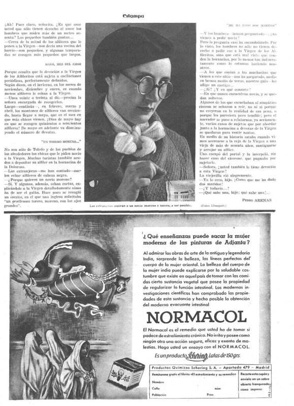 Reportaje sobre la Virgen de Alfileritos. Revista Estampa del 14 de marzo de 1936 (4)
