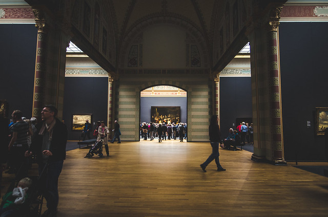 The Night Watch Gallery will be busy no matter what time you visit the Rijksmuseum.