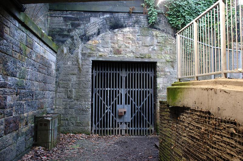 Kelvingrove Tunnel north portal