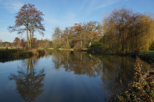 uk winter england tree water gardens landscape bedfordshire englishheritage wrestpark silsoe centralbedfordshire