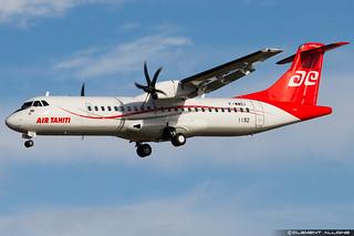 Air Tahiti ATR 72-600 (72-212A) cn 1192 F-WWEI // F-ORVS