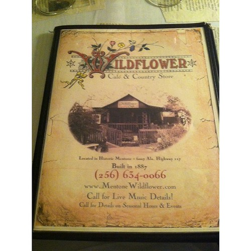 #Wildflowercafe #mentone #valleyhead #alabama #goodeats