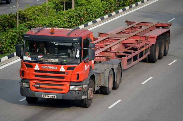 Allied Container Services Scania P380