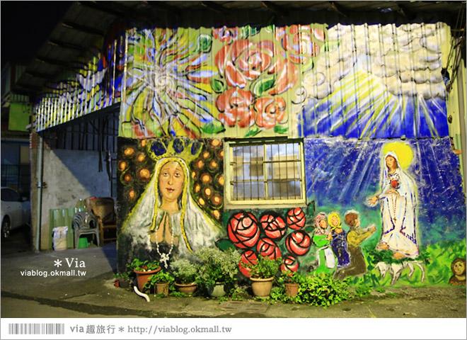 【萬金教堂】屏東萬金教堂聖誕季~3D光雕秀+耶誕地景藝術/全台最濃耶味小鎮!51