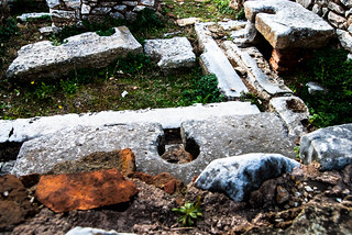 Ancient Toilets at Philippi