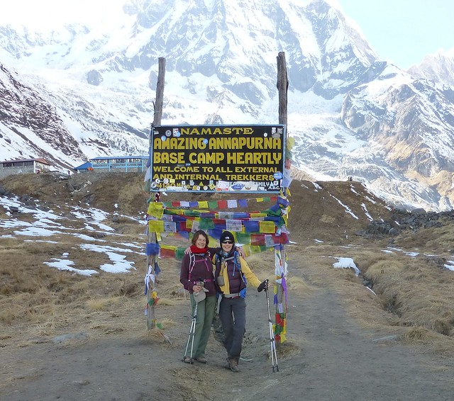 Reaching Annapurna Base Camp