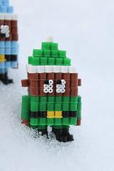 Santa's Elves - Hama Beads