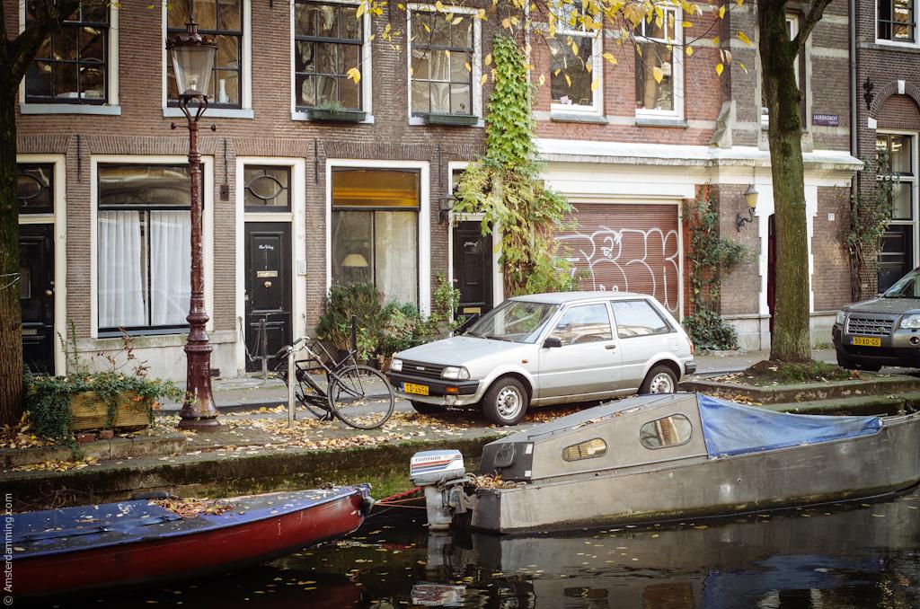 Amsterdam, Sunny November Day
