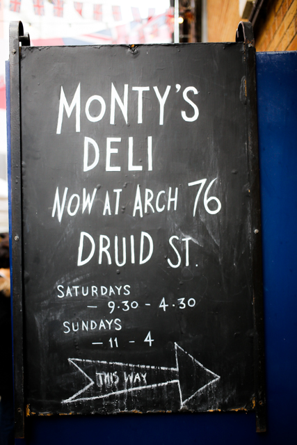 Monty's Deli, London