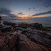 Calm Morning Sunrise at Thunder Hole by Mike Ver Sprill - Milky Way Mike