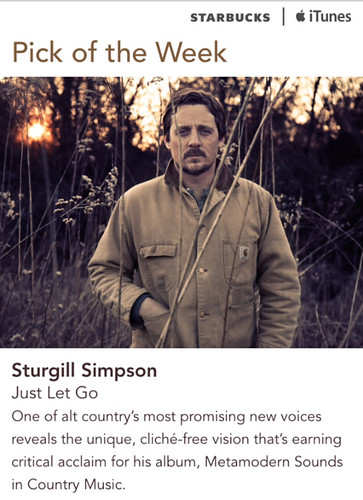 Starbucks iTunes Pick of the Week - Sturgill Simpson - Just Let Go