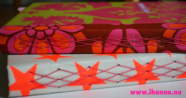Diamond Stitch Art Journals x two 2014 by iHanna