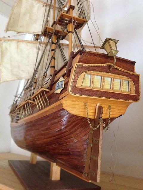 bounty h m s 1 50 maquette bateau bois. Black Bedroom Furniture Sets. Home Design Ideas