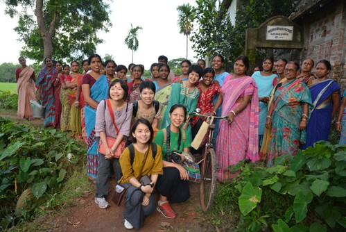 產地拜訪已經是團隊每年固定的工作。照片提供:繭裹子。