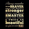 This is true for everyone, especially those egotistical people who know that they should be smarter and stronger than their attitude sometimes dictates. You really are incredible but so is everyone else. Believe that. #drseuss #brave #strong #smart #beau