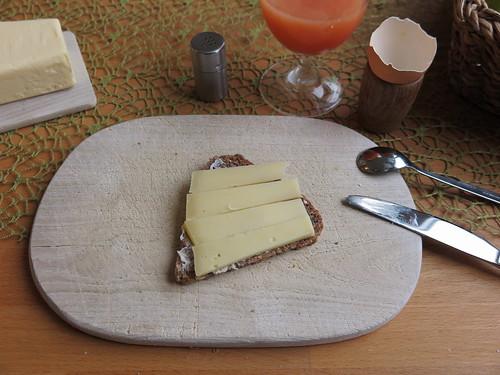 Grinkenschmied (Bio-Käse) auf Vollkornbrot