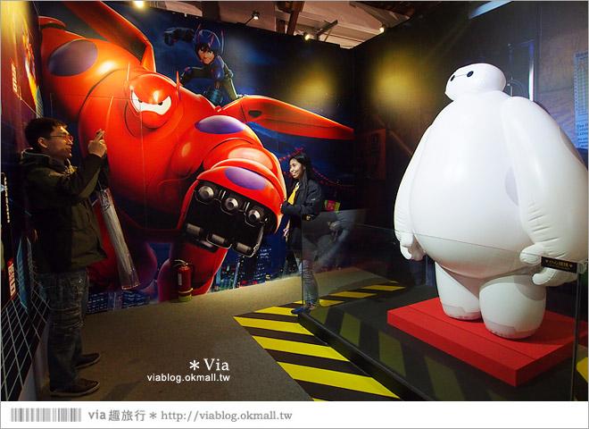 【迪士尼90週年特展】2014台北松山迪士尼特展~跟著迪士尼回顧走過90年的精彩畫面!26