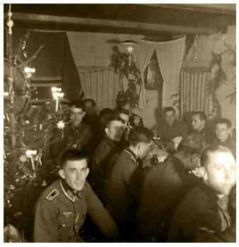 Celebración de la Navidad de 1942