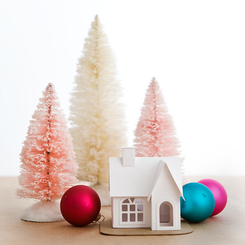 Putz House Ornament DIY Kit from Holiday Spirits