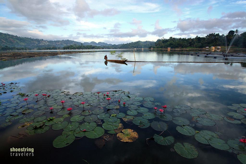 dugout canoe at early morning, Lake Sebu, South Cotabato