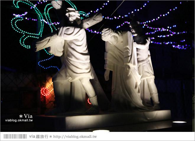 【萬金教堂】屏東萬金教堂聖誕季~3D光雕秀+耶誕地景藝術/全台最濃耶味小鎮!55