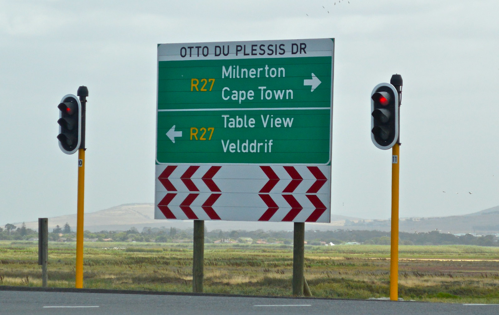 The long drive to Saldanha