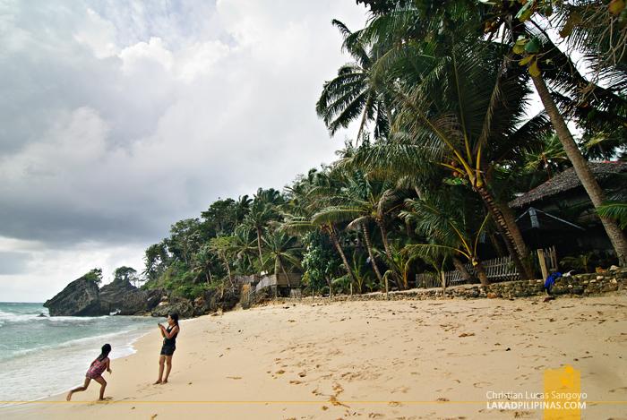 Guisi Beach in Nueva Valencia, Guimaras