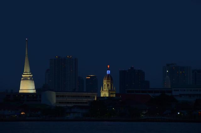 Bangkok en la noche