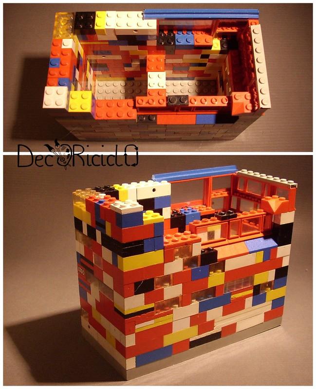 portaoggetti LEGO 12 Collage portamatite LEGO