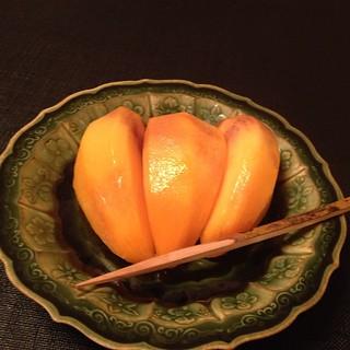 Daigo - persimmons for dessert