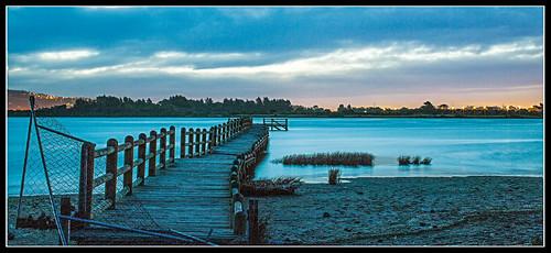 longexposure sunset newzealand christchurch water pier tide canterbury ndfilter