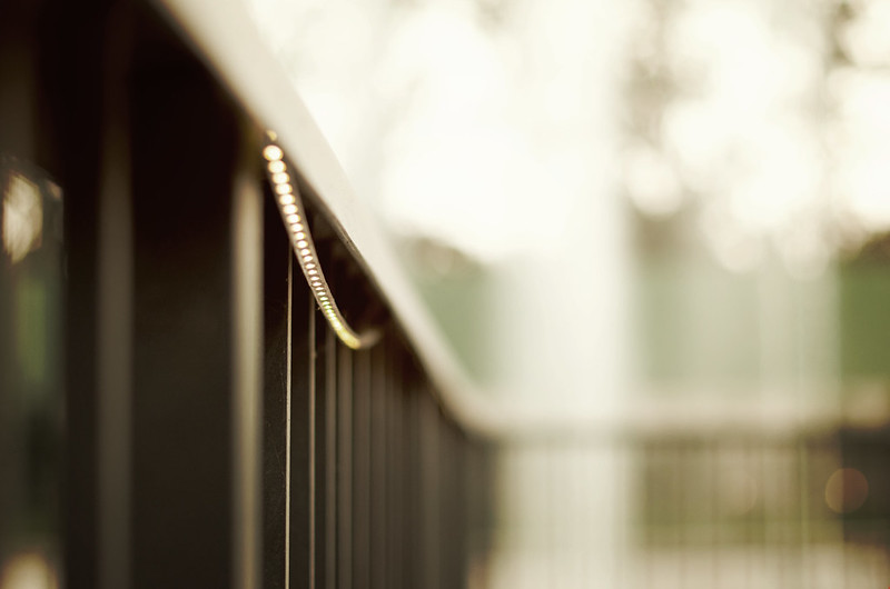 Day 9.365 - Fence Bokeh