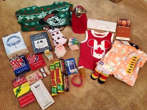 Christmas Loot 2014